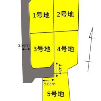 伊豆の国市四日町 5区画分譲地
